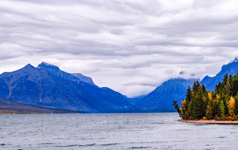 Lake McDonald will greet you when taking the Going-To-The-Sun Road from the West Entrance to the St. Mary's Entrance