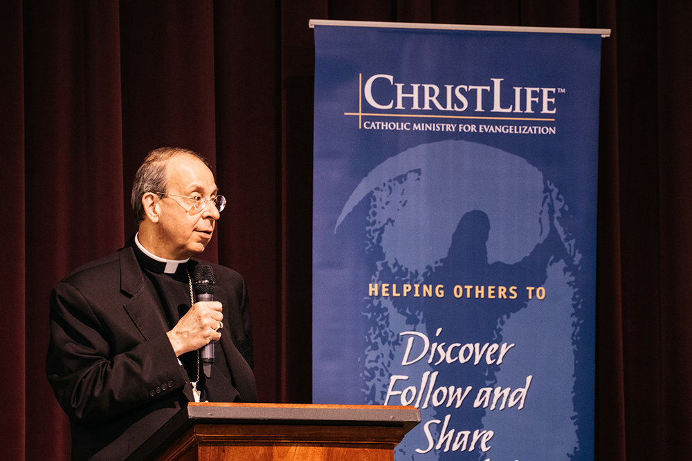 "Archbishop William Lori of Baltimore - ""With great joy, I recommend ChristLife to parishes and dioceses looking to respond to the Church's urgent call to a New Evangelization."