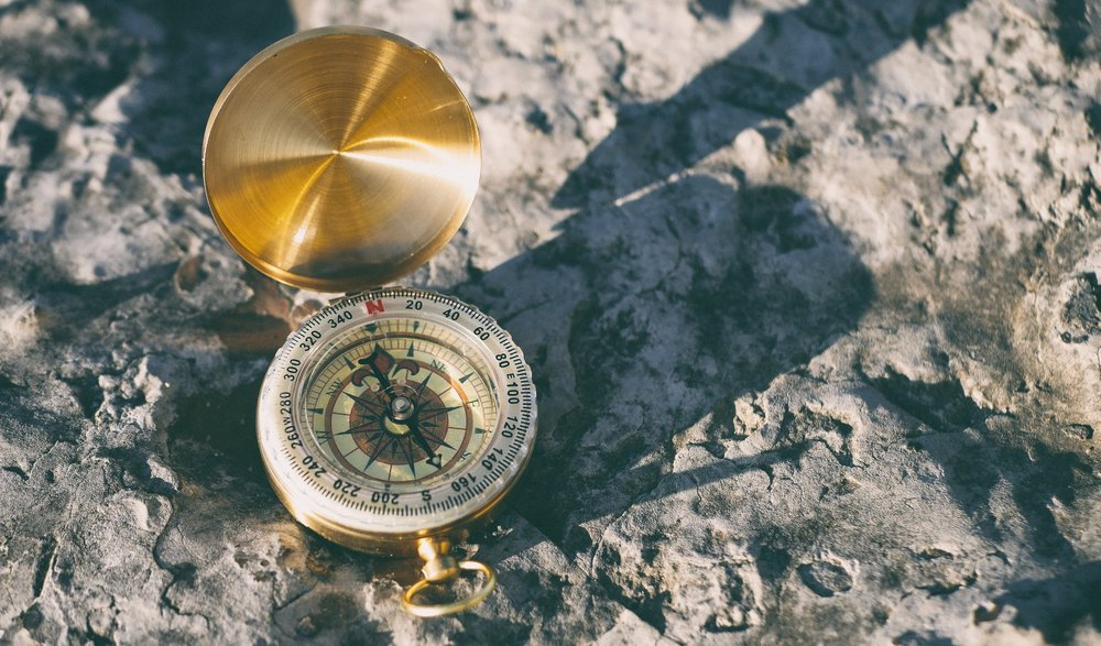 use a compass - have direction. use frameworks & practices that guide to your most authentic self. provide a container for your transformation to grow within. carry it with you wherever you go, checking back in regularly to reacquaint yourself to your direction.