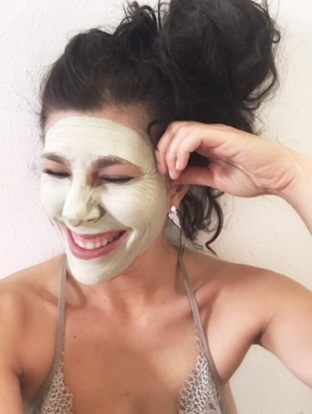Matcha clay mask by Plant Apothacary