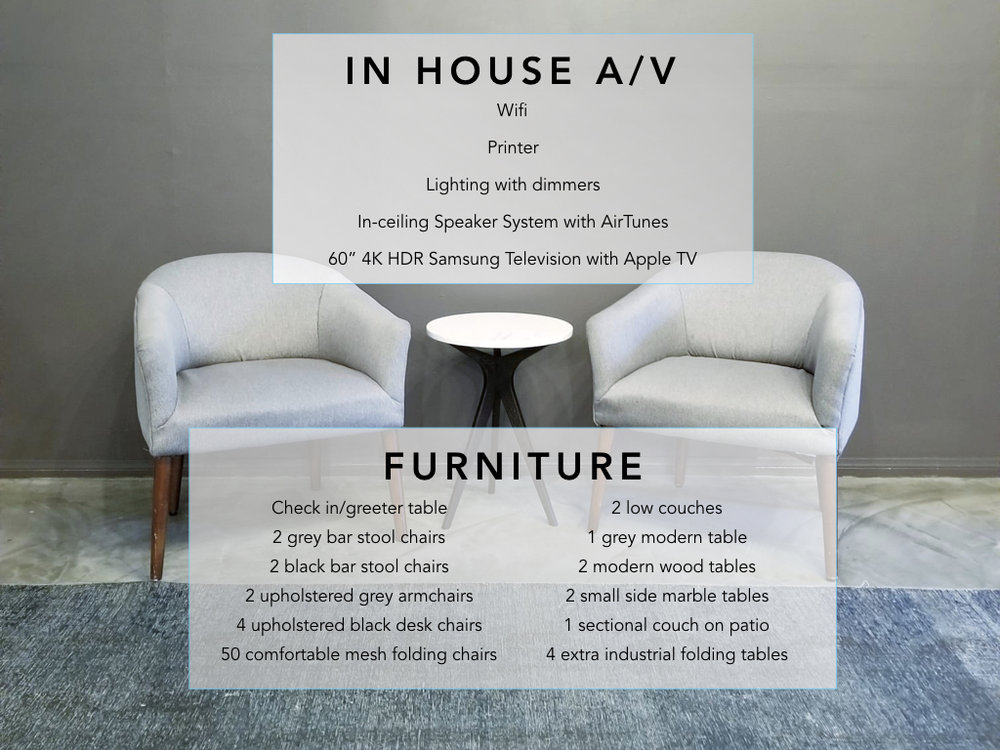 Furniture and AV - The Quest