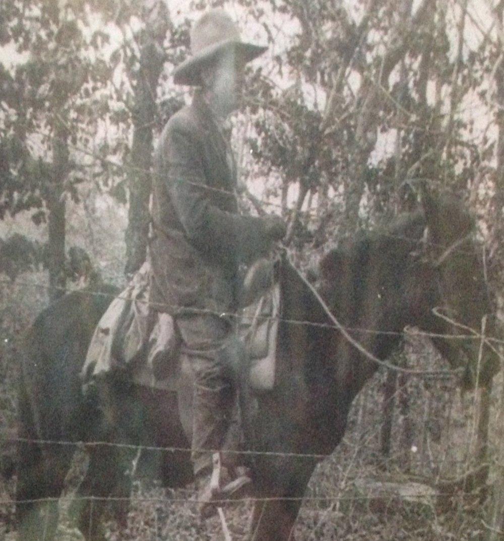 George Washington Tucker, Loal's great grandfather; Durant, Oklahoma