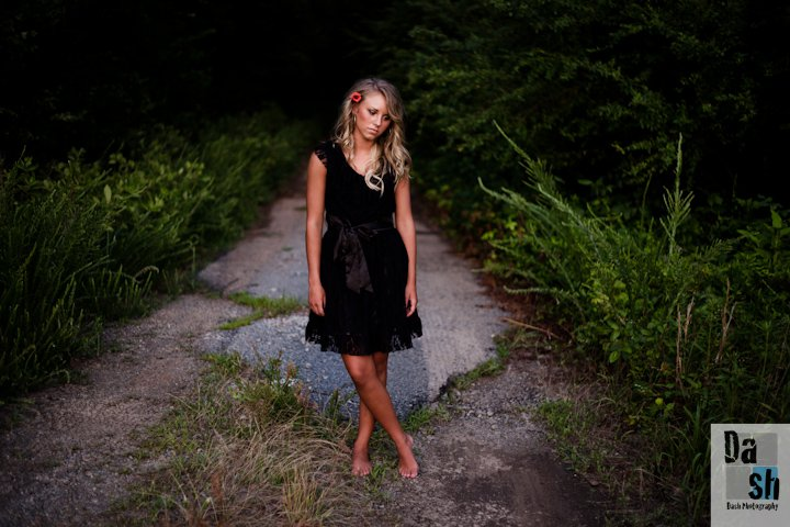Harlee--my very first senior session in 2012.