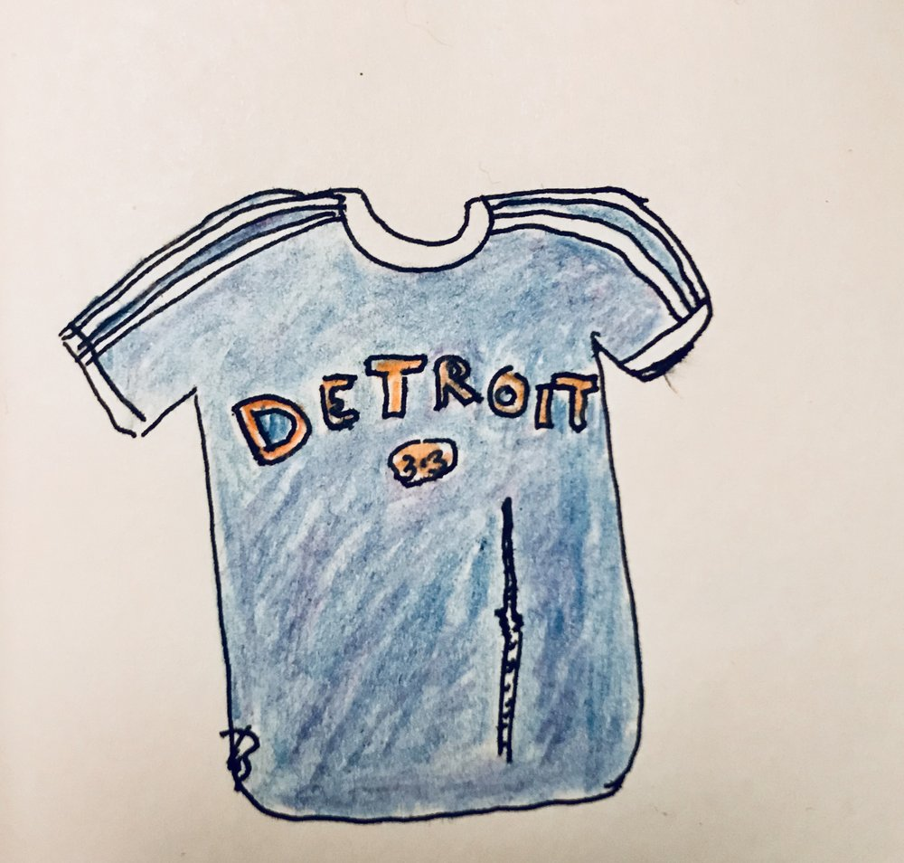 Hayley's rendering of her all-time favorite tee.