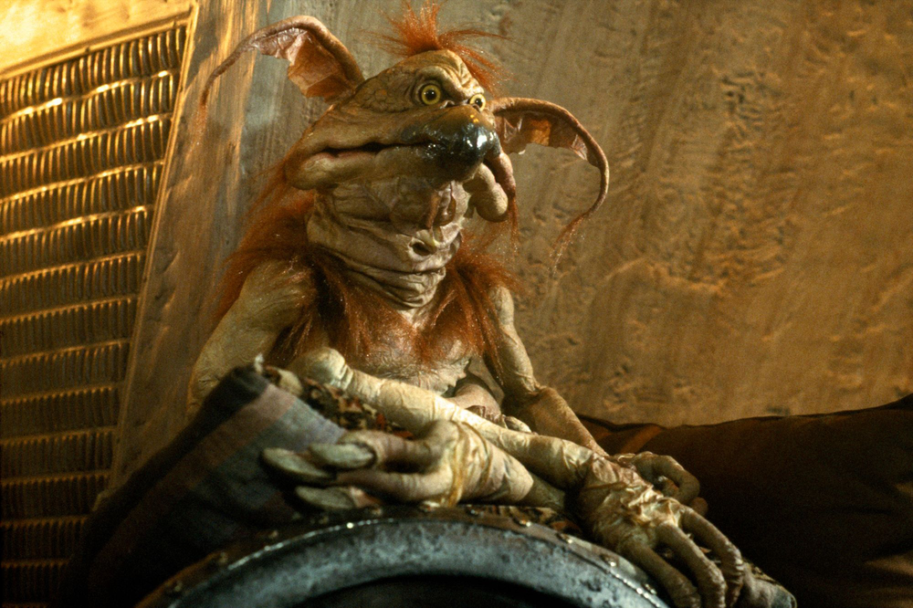 """""""See you in your dreams"""" - Salacious Crumb"""