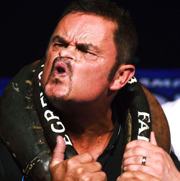Tommy Mattinson. 15 time World Gurning Champion.