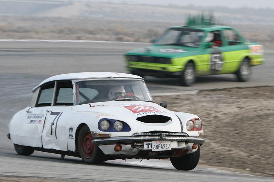 Not your typical race car. Not your typical race.
