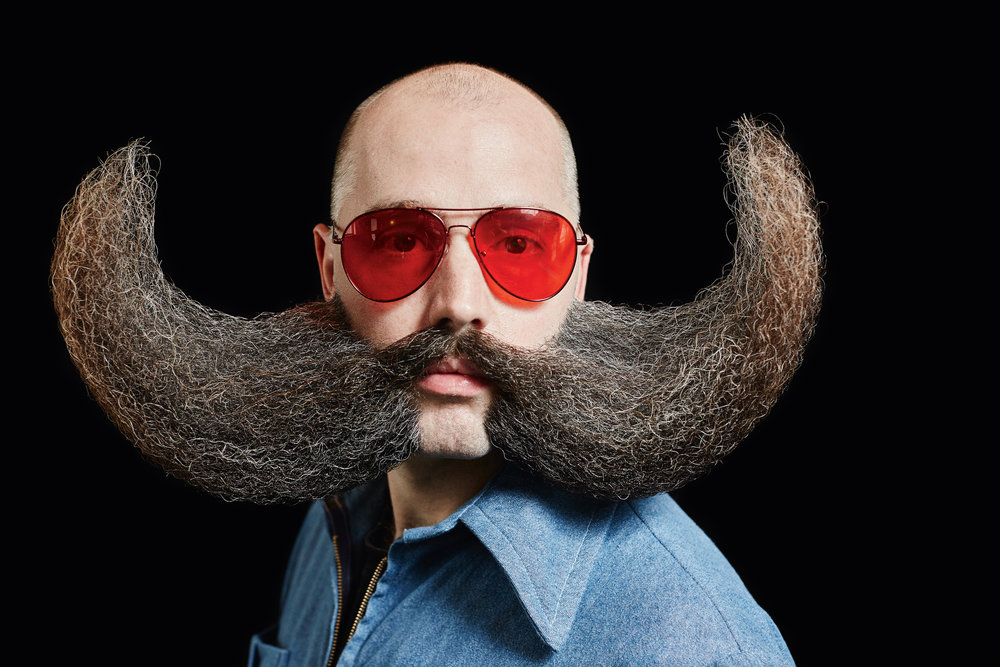 MJ Johnson 2017 World Beard and Moustache Champion