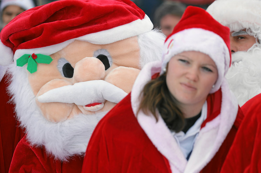 Creepy santa is not one of the events. photo courtesy of  Engadin Samnaun Val Mustair