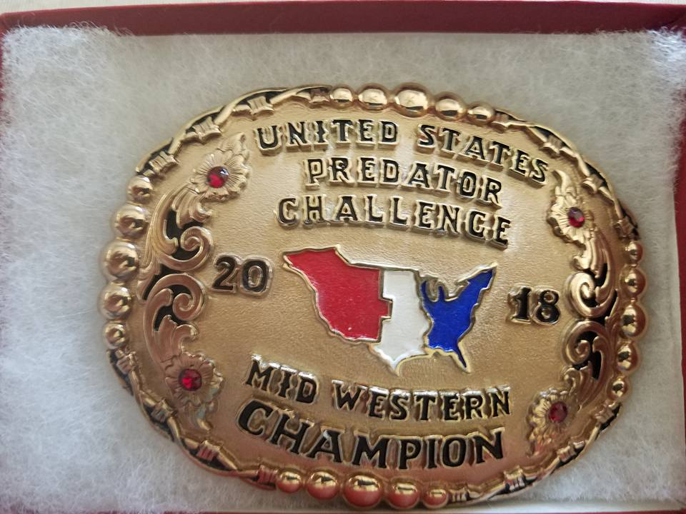 Mid-Western Champion Buckle.