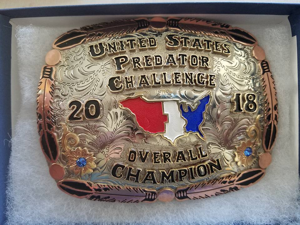 Overall Champion Buckle.