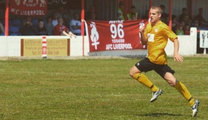 Shaun Gardner plays for AFC Liverpool
