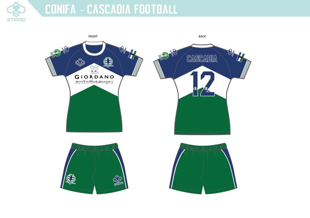Team Cascadia Home Kit