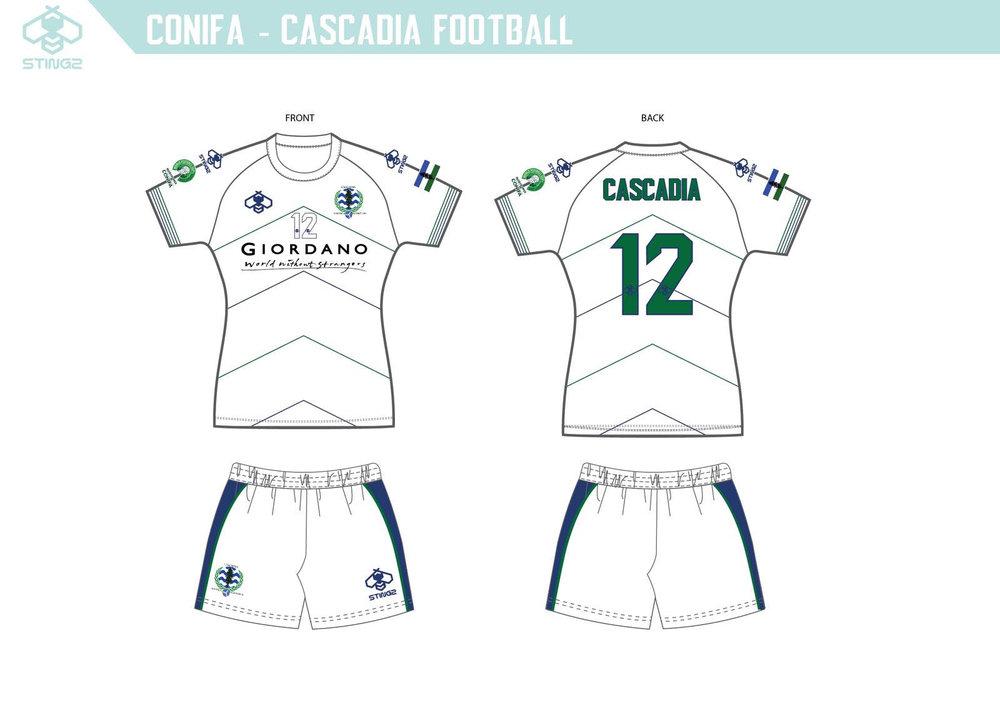 Team Cascadia Away Kit