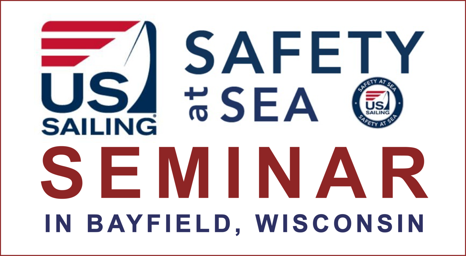 Safety At Sea Seminar in Bayfield WI