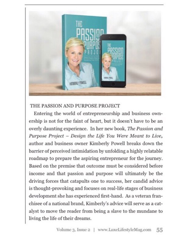 We can't wait for @kimmykpowell book to come out this Spring! We're lucky to work with such a strong female entrepreneur and wellness expert 🙏🏻