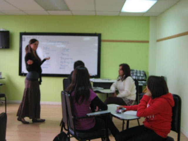 First day of class in Quito, Ecuador.