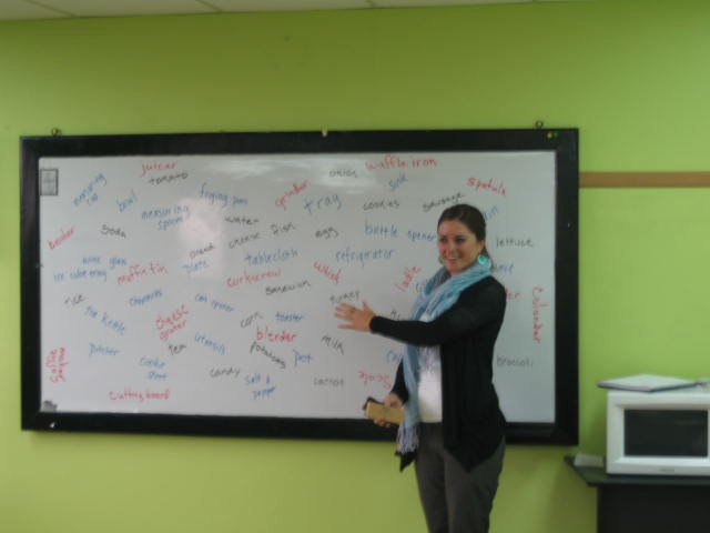 Advanced English classes in Quito, Ecuador.