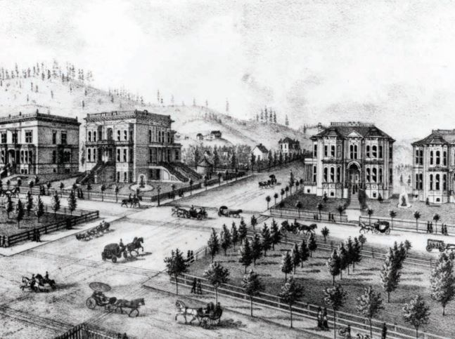 "Portland passed it's first ""tree ordinance"" in 1855 to promote tree planting and regulation in the city."