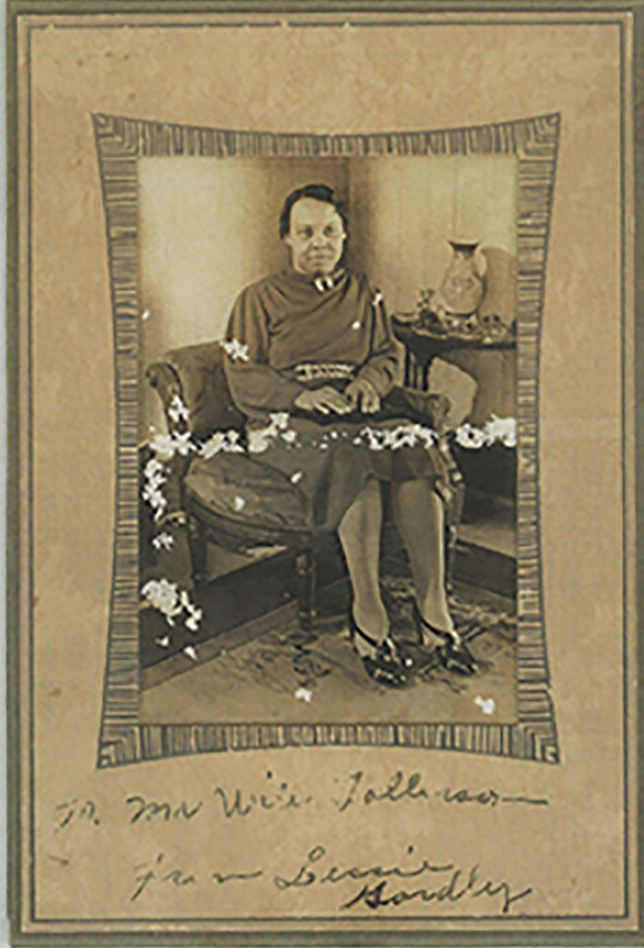 Lessie Gordly, paternal grandmother to Avel Gordly and   Faye Marie Burch, 1930s, Gordly-Burch Family Archive.
