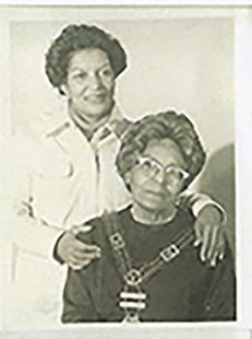 Mrs. Beatrice Gordly and Maternal Grandmother, Alberta Louise Randolph, Gordly-Burch Family Archive.