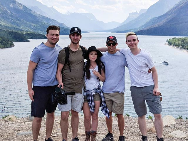 Such a great crew out at Waterton yesterday 🙌🏼 love these people
