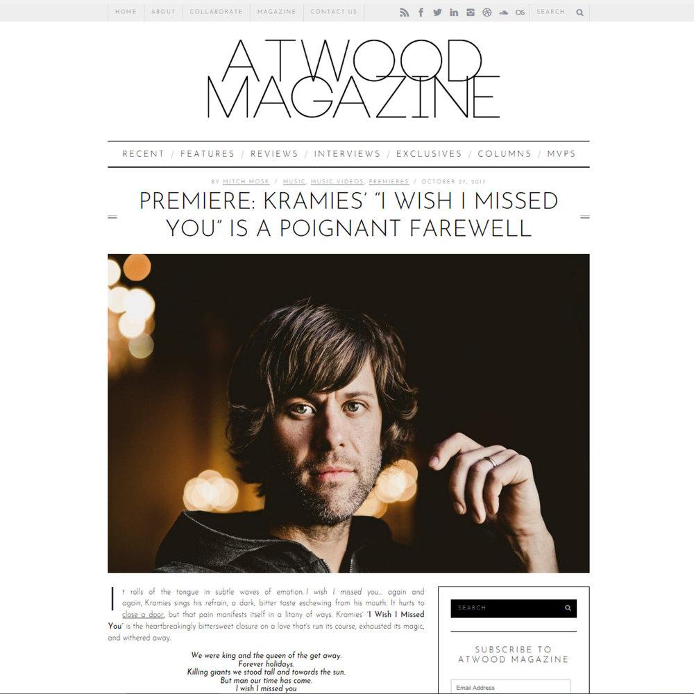 Kramies Atwood Magazine
