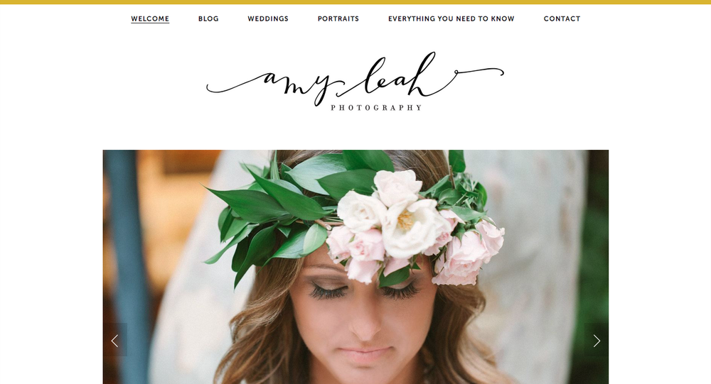 Amy Leah Photography Identity