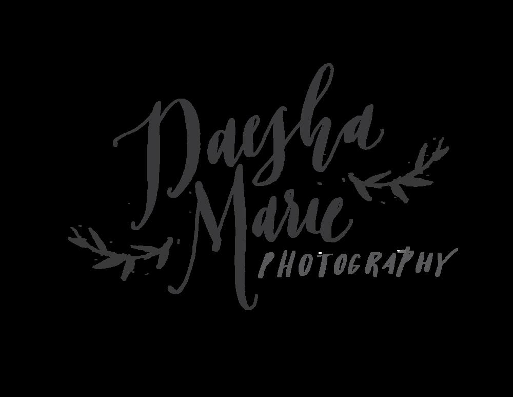 Daesha Marie Photography Identity