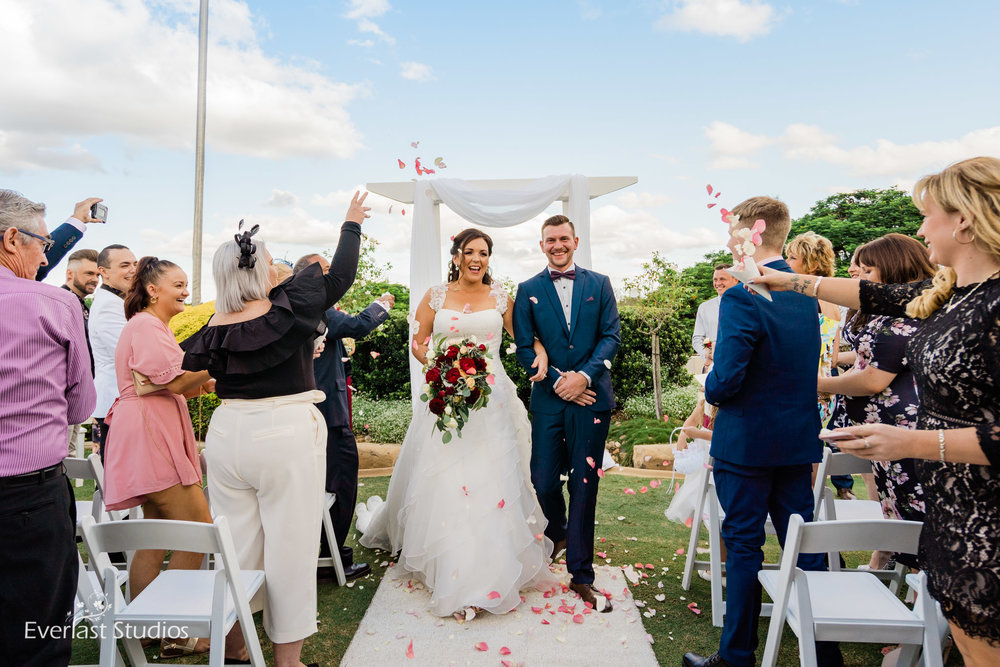 Wedding Ceremony Indooroopilly Golf Club