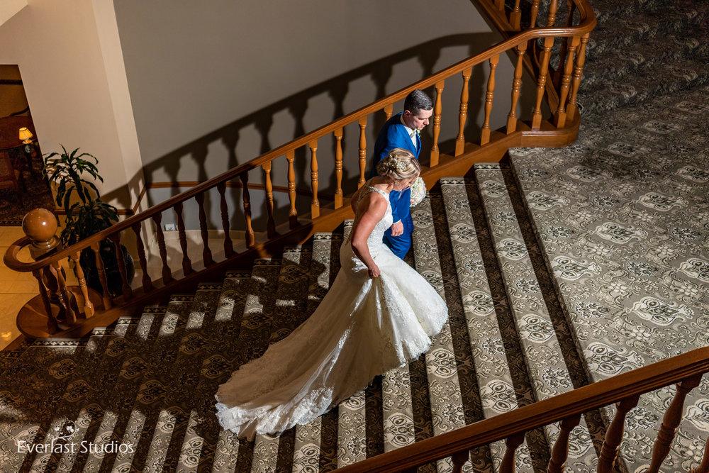 Stamford Plaza Staircase Wedding