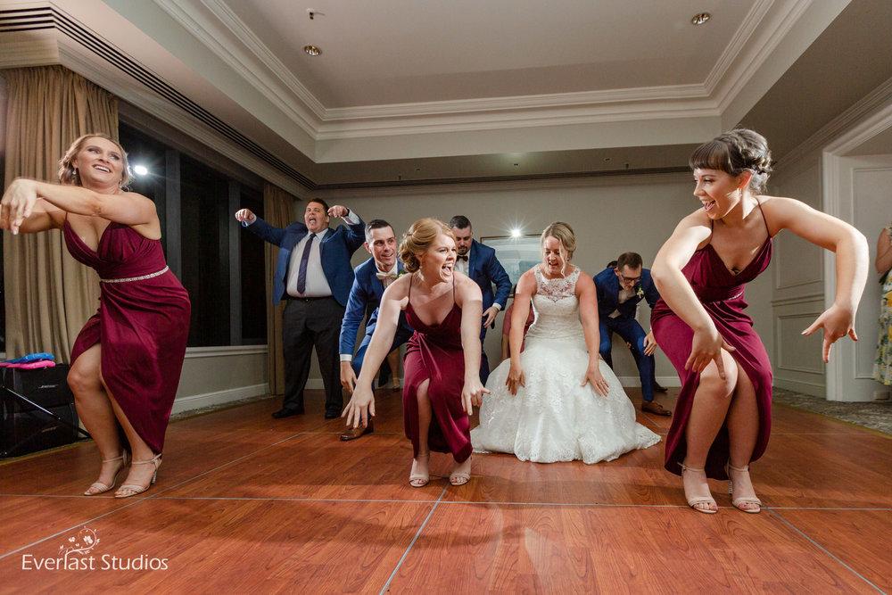 flash mob brisbane wedding