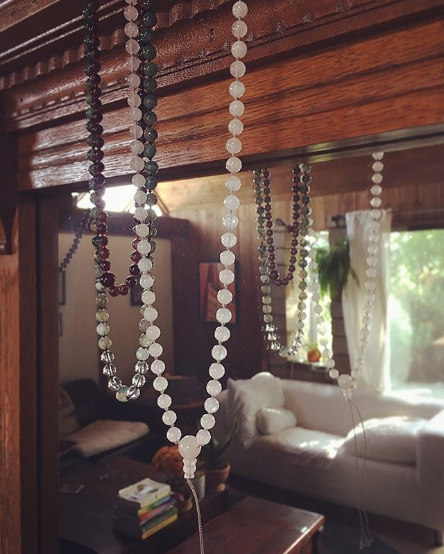 Mala Mondays  #ashleymaegall #gemstone #beads #meditation #mala #peace #love