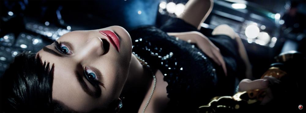 VOGUE MAGAZINE EDITORIAL Photographer: David Fincher / Model: Rooney Mara / Production Designer: P. L. Jackson