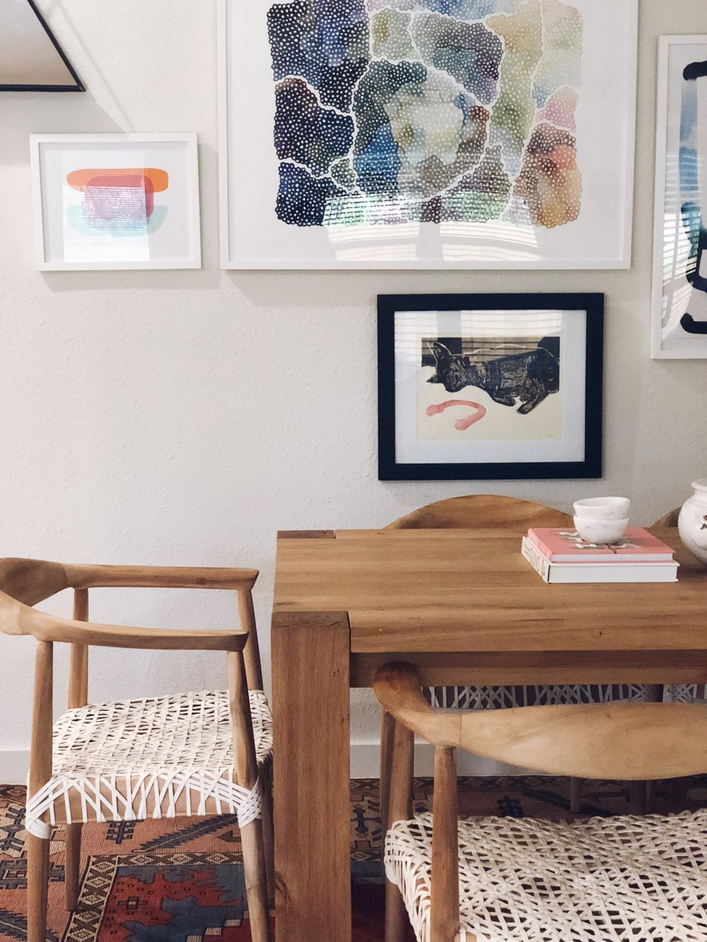 Gallery Wall + Shop My Dining Room