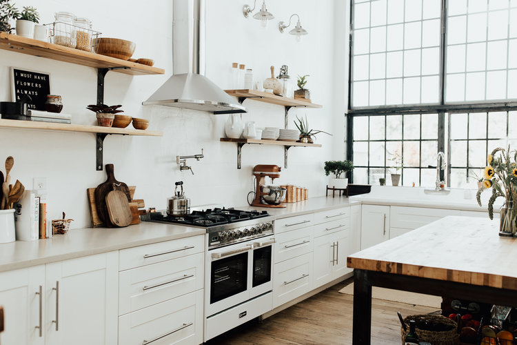 Kitchen Remodel Inspiration // White Shanty at Home // Winsome Rose Journal