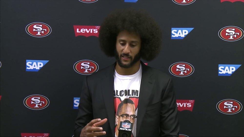 Colin Kaepernick Speaks on Fidel Castro and Malcolm X | 49ers vs. Dolphins | NFL