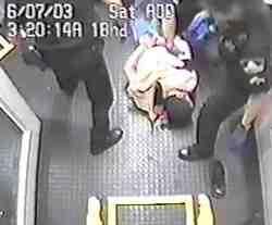 Handcuffed Iranian Man Beat Down by Sacramento County