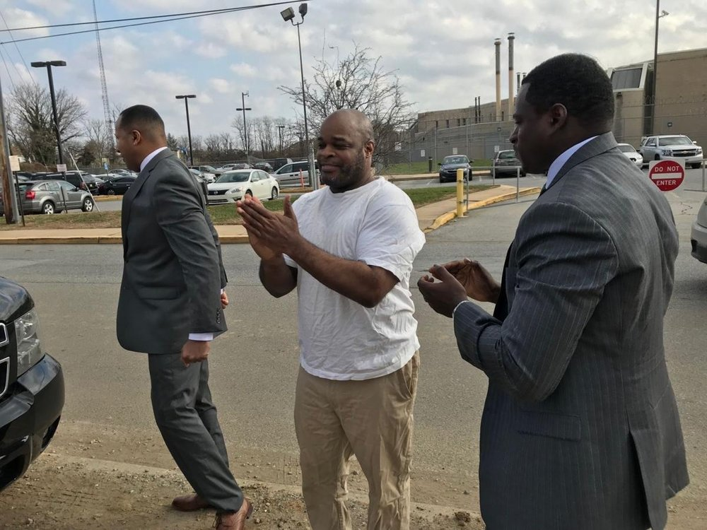 Elmer Daniels was released from Howard Young prison Thursday, December 13, 2018, just before lunchtime--one day after his 57th birthday. Daniels, who was 18 at the time, was convicted in 1980 for the rape of a 15-year-old girl. [   MORE   ]