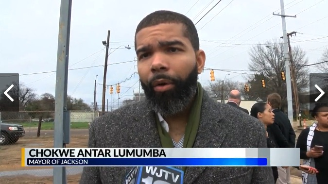 """Mayor Chokwe Antar Lumumba asks that people wait on the results before jumping to conclusion. """"Those officers have been placed on suspension while internal affairs does its investigation. We expect the info to be fair and swift. """" Kristal Bennett, """"The mayor said he would help us but we haven't seen anything done yet.."""""""
