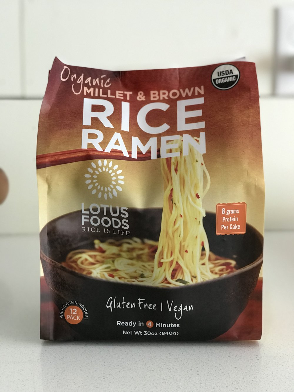 The rice ramen I love to use.