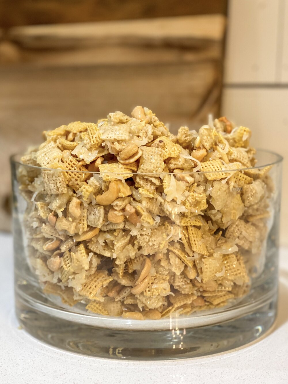 sticky chex mix aka christmas crack - Christmas Crack Recipe Chex