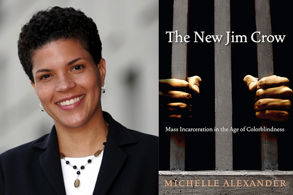 Michelle Alexander. Writer and Civil Rights advocate, author of The New Jim Crow, a reference source on accurate and evidence-based research on the War on Drugs and law enforcement history and policy as it applies to people of color.