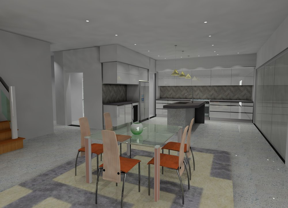 THIS CLIENT FROM PERTH ASKED US TO DESIGN THE CABINETWORK FOR THE WHOLE HOUSE , HERE'S A FEW VERSIONS OF THE DESIGN