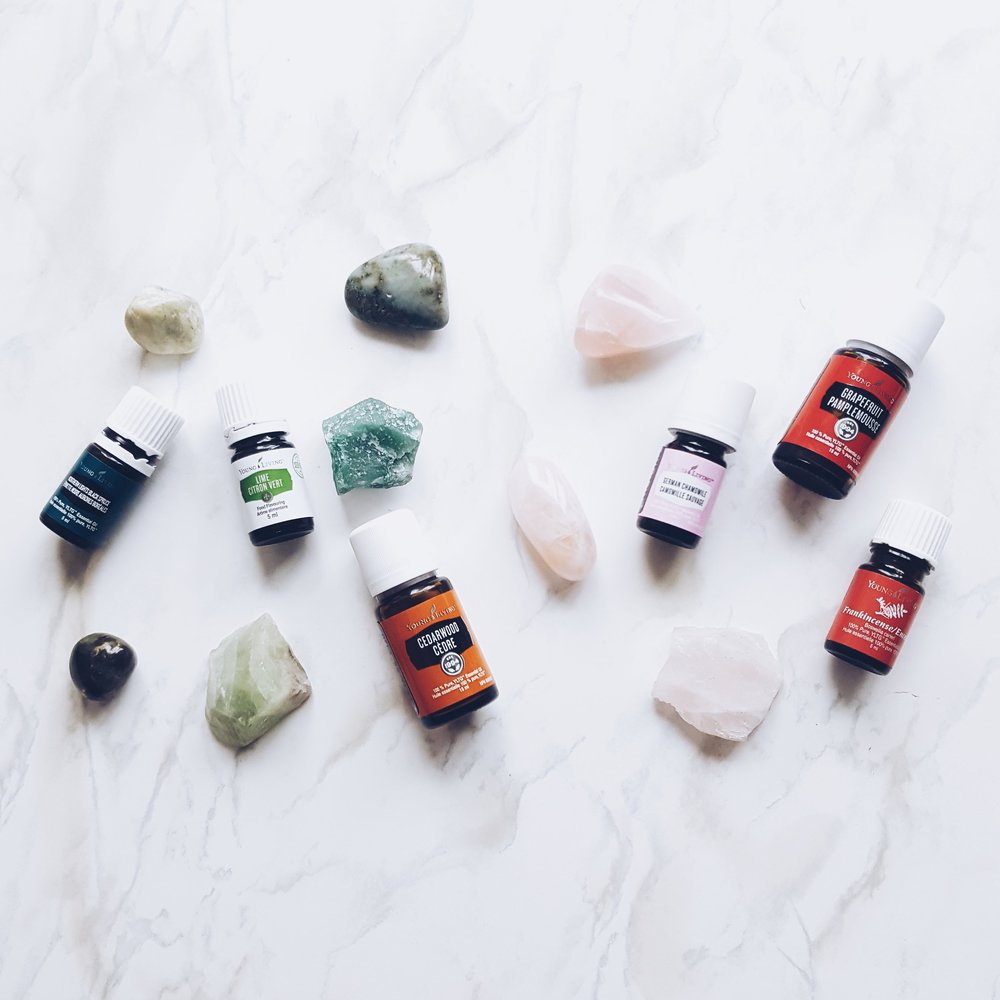 Crystals, Stones and Oils to help balance and open the Heart Chakra -