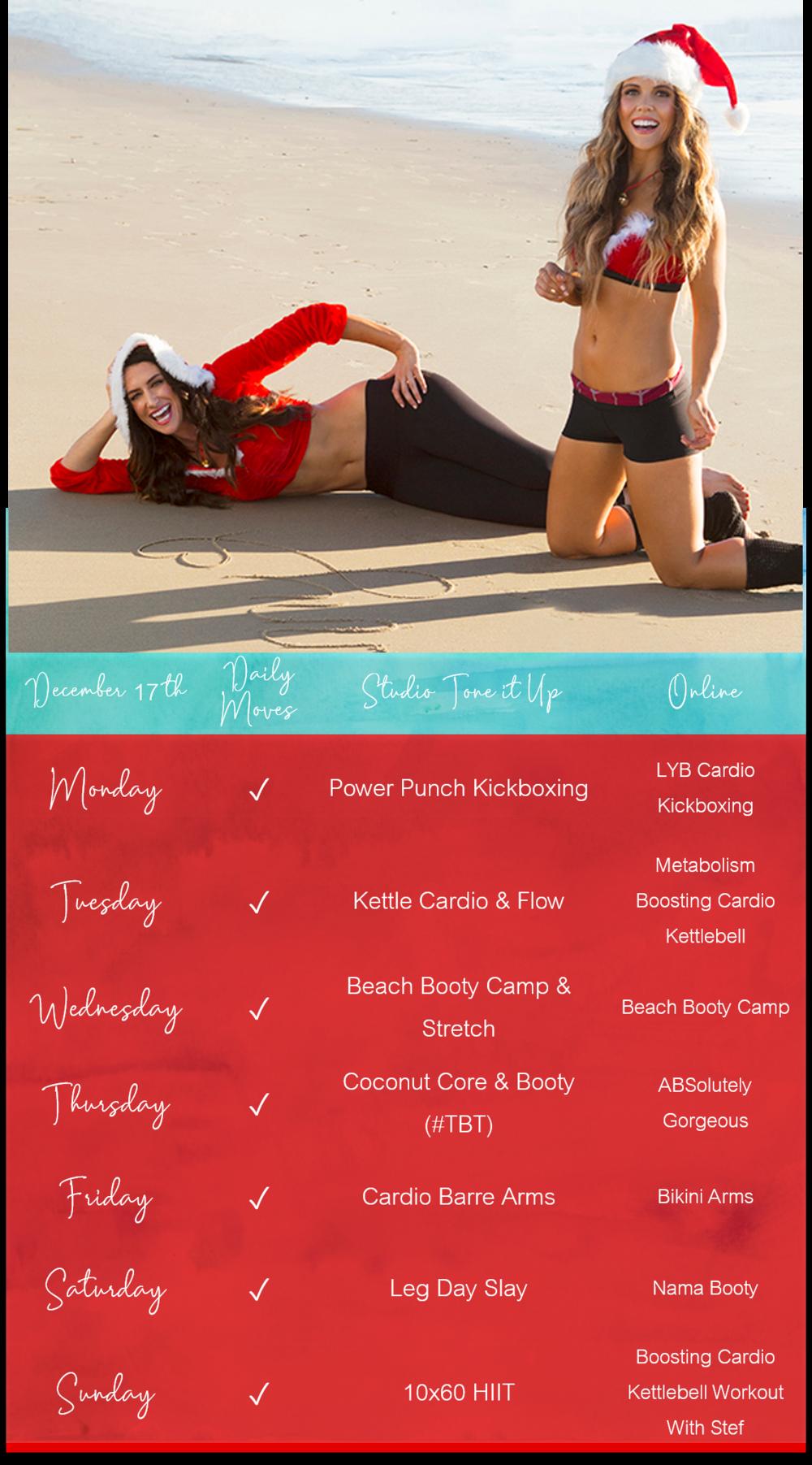 TIU Holiday Hustle Week of December 17th - Click below to download the lockscreen