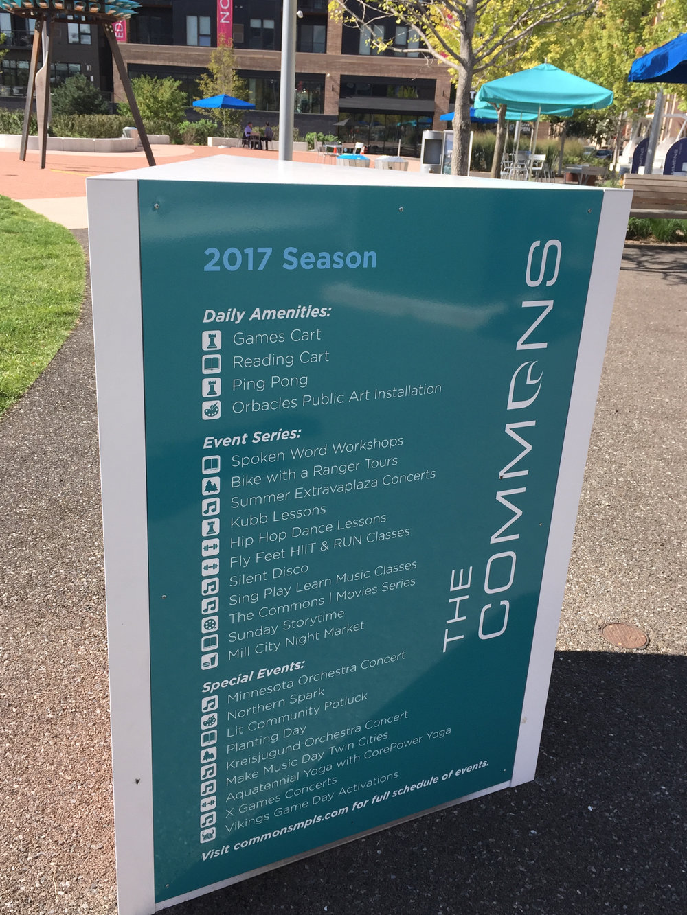Commons Season Schedule Sign.jpg