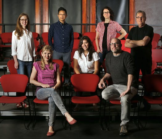PWC with writers & Jeremy in theater seats.jpg