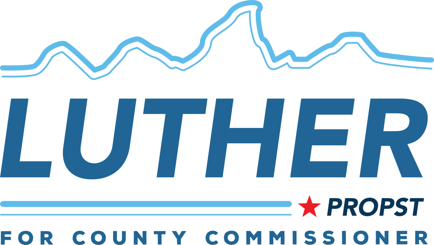 Luther for County Commissioner