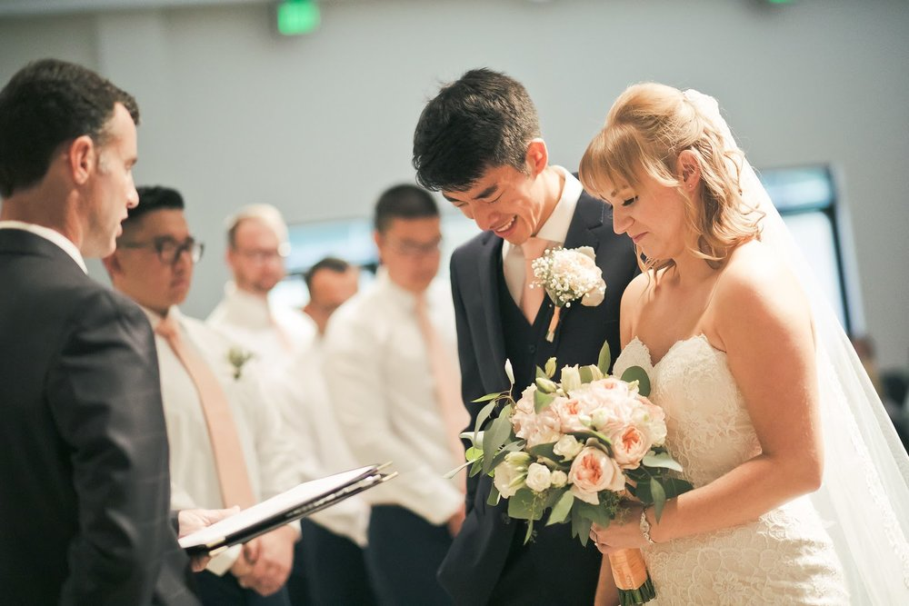 Simon & Myra - Wedding Florals - Floral Design - Ashley Hur - Hip Hip Hooray Dot Love